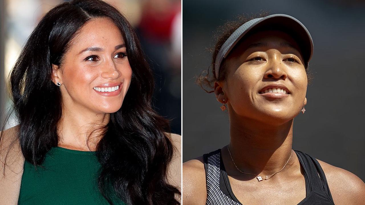 Meghan Markle thanked by Naomi Osaka for 'kind words'