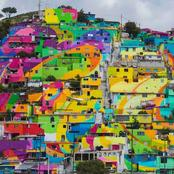 10 Most Crazy Colored Places on Earth