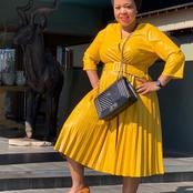 Winnie Mashaba dances to Amapiano and wows her fans.