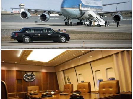 Inside President Joe Biden's Air Force One Plane, See The Incredible Beauty of Art