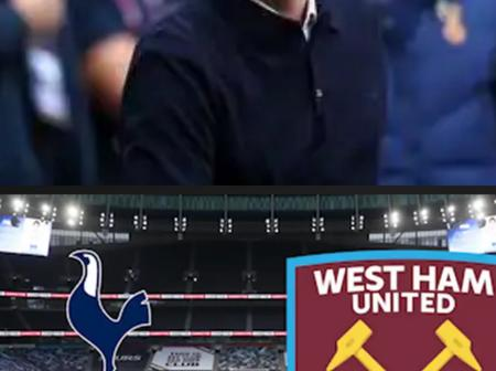 Tottenham Hotspur failed to register a win against West Ham United.