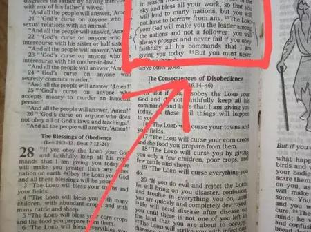 See The Bible Portion That Attracts Financial Blessings On Me Whenever I Say It