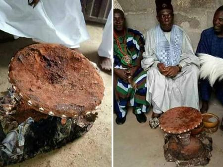 See the powerful stool of late great mother of the Ebira people (pictures)