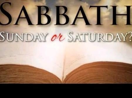 Which Day Is The Sabbath Day, Saturday Or Sunday?