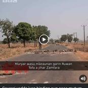 AUDIO: Zamfara Bandits Abduct Our Wives And Kids, Burn Our Cars, Motorcycles, Shops