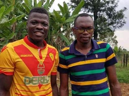 Patrick Matasi visits ailing former AFC leopards captain Martin Imbalambala in Vihiga County