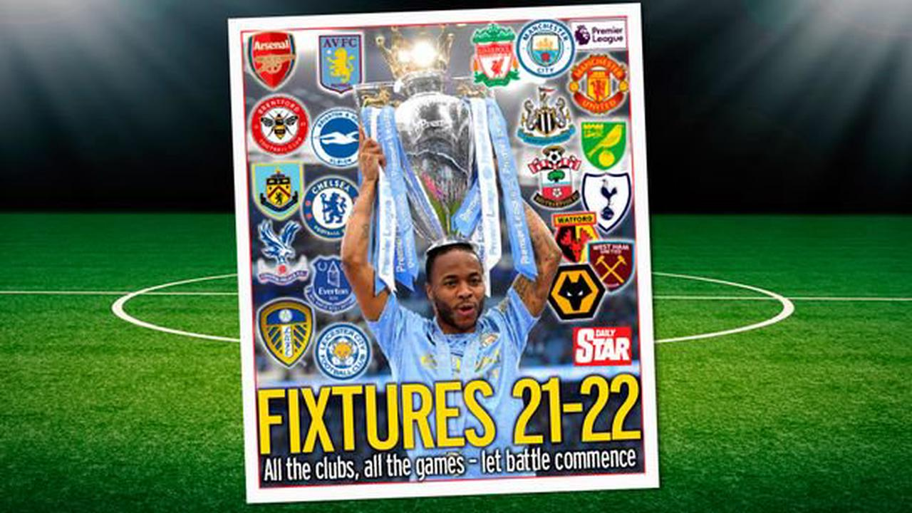 FREE Football Fixtures mag inside Saturday's Daily Star