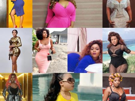 10 most curvy and endowed celebrities currently in Nigeria
