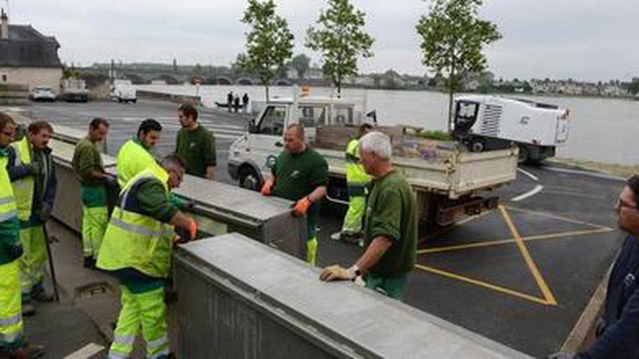 Les Ponts-de-Cé. Loire en crue: la Ville prend des mesures préventives