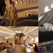 Inside pictures of Cristiano Ronaldo and Lionel Messi's Private Jets.