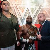 Triple H Celebrates Nigerian Wrestler For Winning WWE Intercontinental