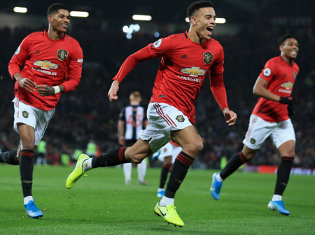 Can They Win The League? Find Out The Bad Record Man United Broke In Their 1-4 Win Against Newcastle