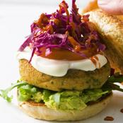 The Ultimate Falafel Burger