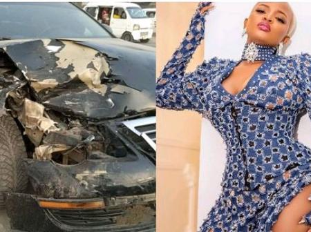 Checkout Ex BBNAIJA who survived accident on her 25th birthday celebration