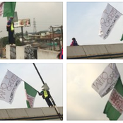 Who Ordered The Lekki Massacre: Nigerians Express Fear For Flagbearer Who Embarked On Lone Protest