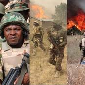 Nigerian Troops Dealt Decisively With ISWAP in Gajira Town, See What Soldiers Did To Defeat Them