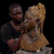 Sweet Mother: See What A Sculptor Crafted Out In Honour Of All Women