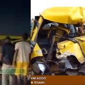 [Sad news]. Accident Happened at Tesano Junction in Accra.
