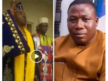 Sunday Igboho And Afenifere Are Enemies Of Yorubas - Says Oluwo As He Visits Sokoto