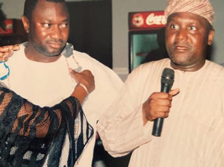 Billionaire, Femi Otedola Recalls When He Was The Largest Ship Owner In Africa (Photos)