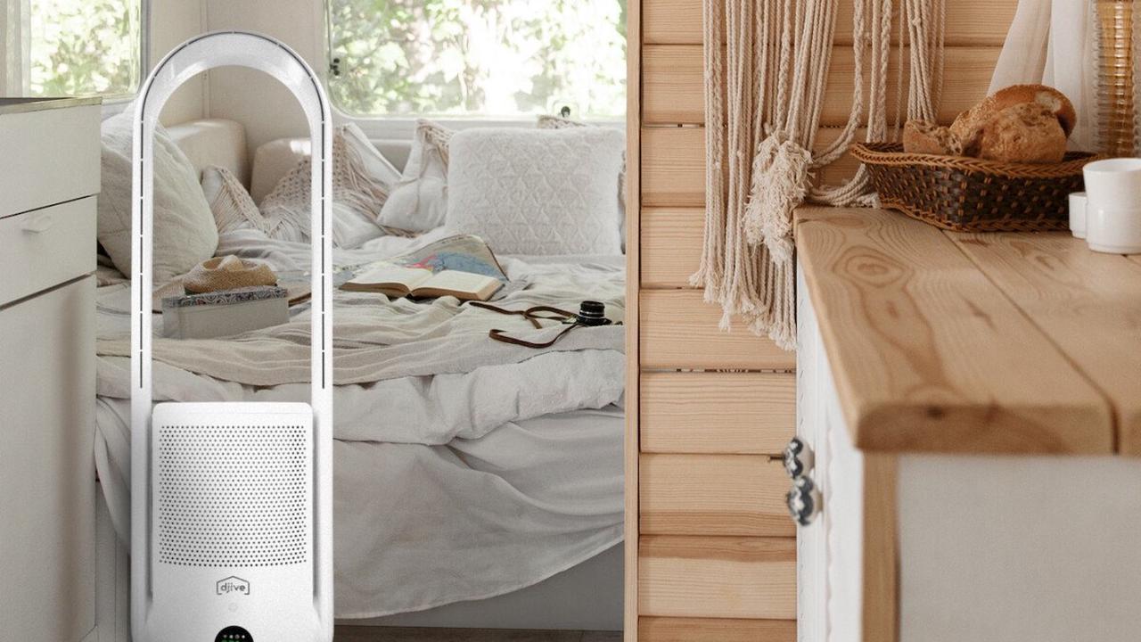 Frische Luft im Wohnmobil: Mobiler Luftreiniger mit Akku und HEPA-Filter vorgestellt