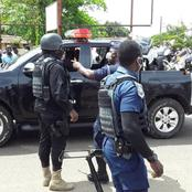 What really happened as police officers fail to arrest robbers at bank burglary in a suburb of Accra