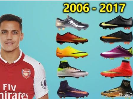 The Evolution Of Alexis Sachez's Boots From 2006 To 2020