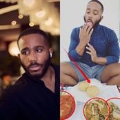 See What A Billionaire's Son, Kiddwaya Was Spotted Eating