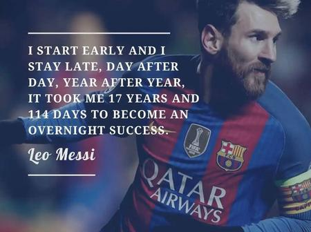 Lionel Messi – Top Six Best Quotes About The Barcelona Legend.