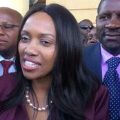 Susan Kihika Shares a Video Online of Senior Police Officer Who Wanted to Beat Them Up