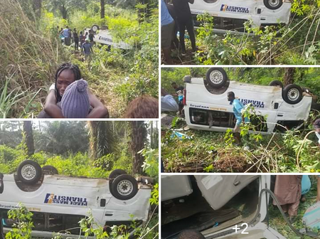 See Reactions as Peace Mass Transport Is Involved In A Terrible Accident (Photos)