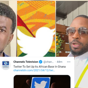 Reno Omokri, Tunde Ednut & Others React As Twitter Snubs Nigeria & Set It's African Base In Ghana