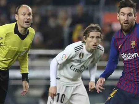 'Mike Dean' to Handle El Clasico Battle Between Real Madrid and Barcelona