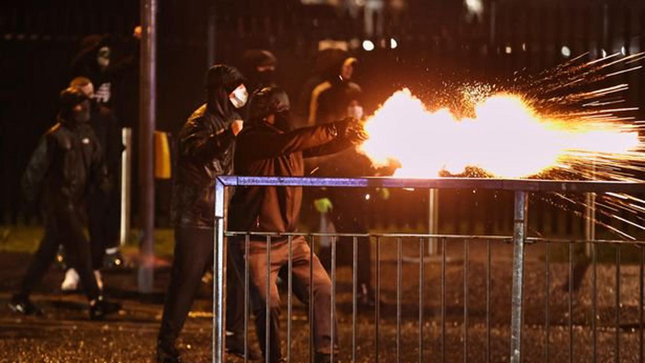 Belfast riots: Police use water cannons as violence flares in parts of West Belfast