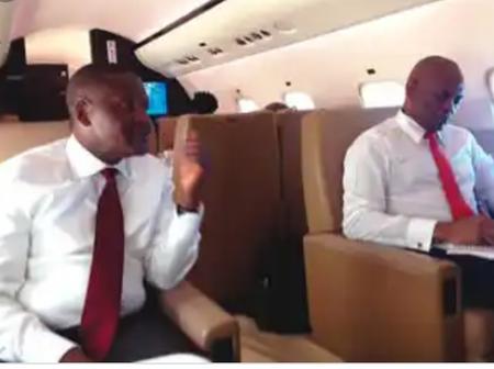 Photos: Tinubu, Dangote, Adeleke, Otedola, And Tony Elumelu Inside Private Jets