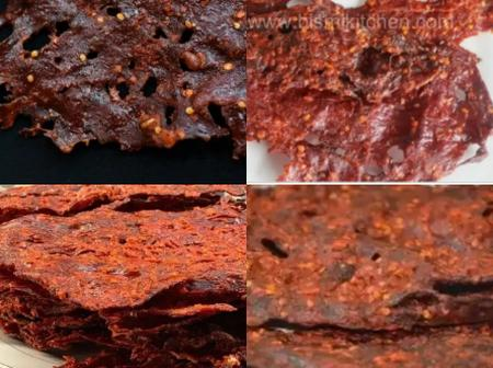 You dont need to travel to the north to buy kilishi.See how to make delicious Kilishi in your home