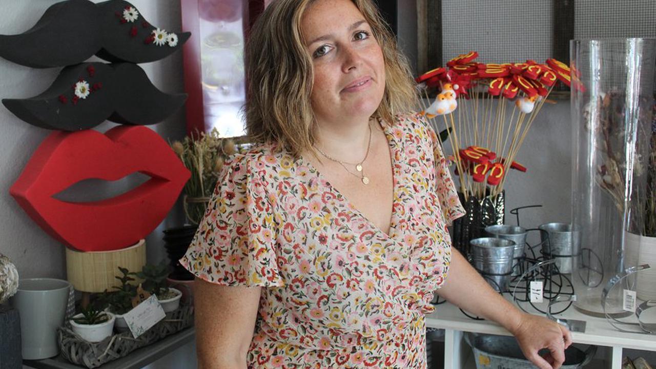 Commerce : la fin du temps des fleurs pour Lorrie Arnaud à Peyriac-Minervois