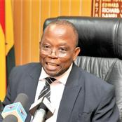 This is sad for Ghana :The auditor general is facing serious opposition in his corruption fight.