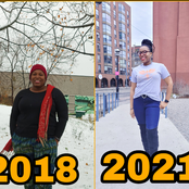 Pretty Lady Shares Amazing Transformation Since She Left Nigeria In 2018