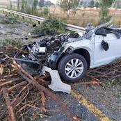 'See pictures' : FATAL VW polo crash