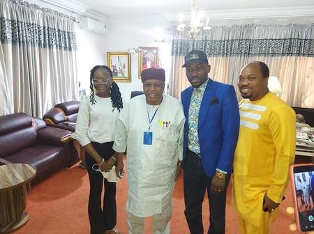 """Read What Governor Ishaku Said To Apostle Sulaman After He Visited""""JALINGO"""" For Envagelism"""