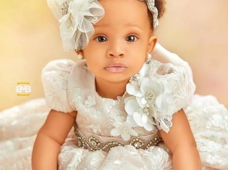 Have You Seen BBnaija Bambam's Daughter? She Is So Pretty.