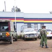 Man Arrested For Throwing Stones In A Police Station In Mwea Kirinyaga County