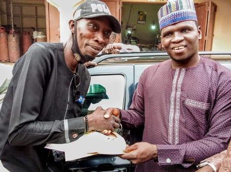 Hausa Musician, Kahutu Rarara Gifted Maidawayya a brand New Car [Photos]
