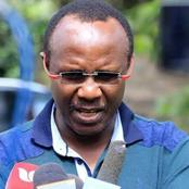 I am not a Revolutionary - Ndii Responds to Critics, Hits Back at them for Piling Pressure on Him