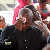 John Mahama to be betrayed by his own people? Another 'sad' news hits Mahama and the NDC
