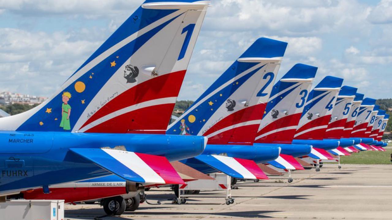 Le retour attendu de la Patrouille de France en meeting aérien