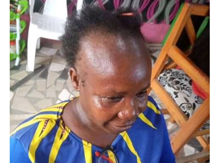 Some Hairdressers Are Wonderful - See How This Woman's Hair Was Transformed