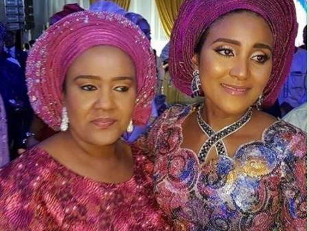 Meet The Mother Of The Beautiful Daughters Of Aliko Dangote Who Is A Daughter Of Ex-Commissioner