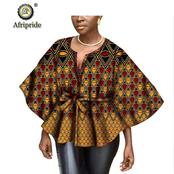 Dear Ladies, Check Out These Eye Catching Photos Of The Latest and Trendy Ankara Dresses